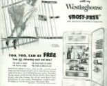 Buy ge appliances - 1952 BH&G Westinghouse Appliances Full Page Ad