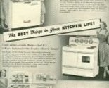 Buy ge appliances - 1952 BH&G Crosley Appliances Full Page Ad