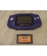Gameboy Advance GBA System (Indigo) and Shonen ... - $30.99