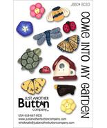 Come Into My Garden Button Card Collection BC31... - $21.60