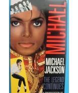 Michael Jackson VHS The Legend Continues 1988 - $45.00