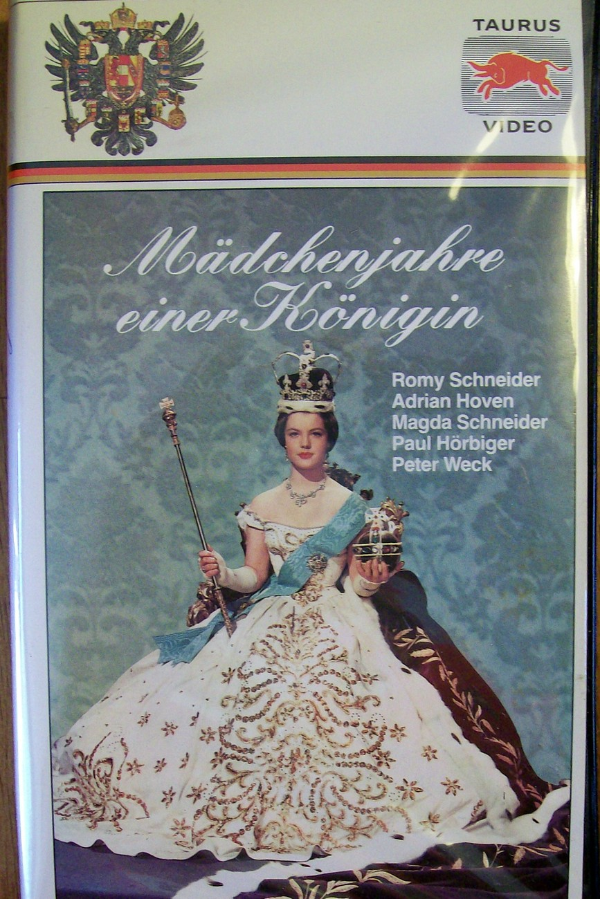 Madchenjahre einer Konigin VHS German Language Movie with Romy Schneider