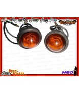 12v COMPLETE AMBER PILOT LAMP ASSLY WITH CHROME... - $6.99