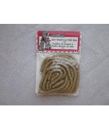 Jute Small Curl Doll Hair 3 yards Fibre Craft B... - $5.99