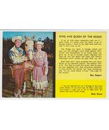 Roy Rogers Christian Cowboy Post Card Dale & Tr... - $6.00