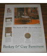1927 AD~BERKEY & GAY FURNITURE~DINING~GRAND RAPIDS,MI - $9.95
