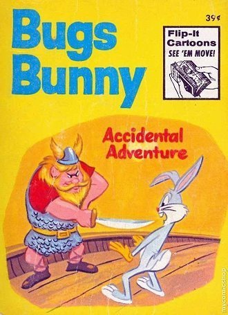 Walt Disney Bugs Bunny Accidental Adventure Little Book