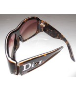 Christian Dior &#39;Lovingly Dior 1&#39; Sunglasses Havana/Pink  Lens:Red Beige Gradient