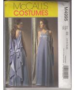 Star Wars Padme Amidala Costume Pattern 14-16-18-20 McCall's M4995 - $41.99