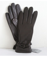 NEW SOFT LEATHER GLOVES w/ LOVE KNOT CUFF S,or XL - $27.99