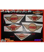 NEW HQ CUSTOMIZED 5PcS COMPLETE STICKER SET -