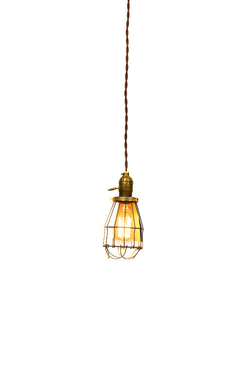 Simply Modern & Vintage Farmhouse Premium Caged Pendant Light