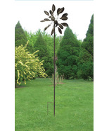 Metal Leaves Windmill Garden Stake - $75.00