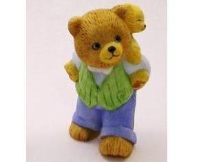 Bronson Figurine Bear Papa Bill and Billy by Katharine Stevenson
