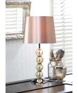 Glass Orb Base Table Lamp - $49.00
