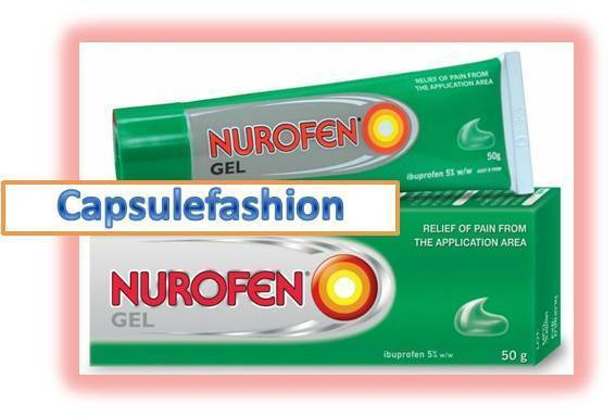 Nurofen gel for muscle pain relief and inflammation ...Ibuprofen 5%w/w 50g