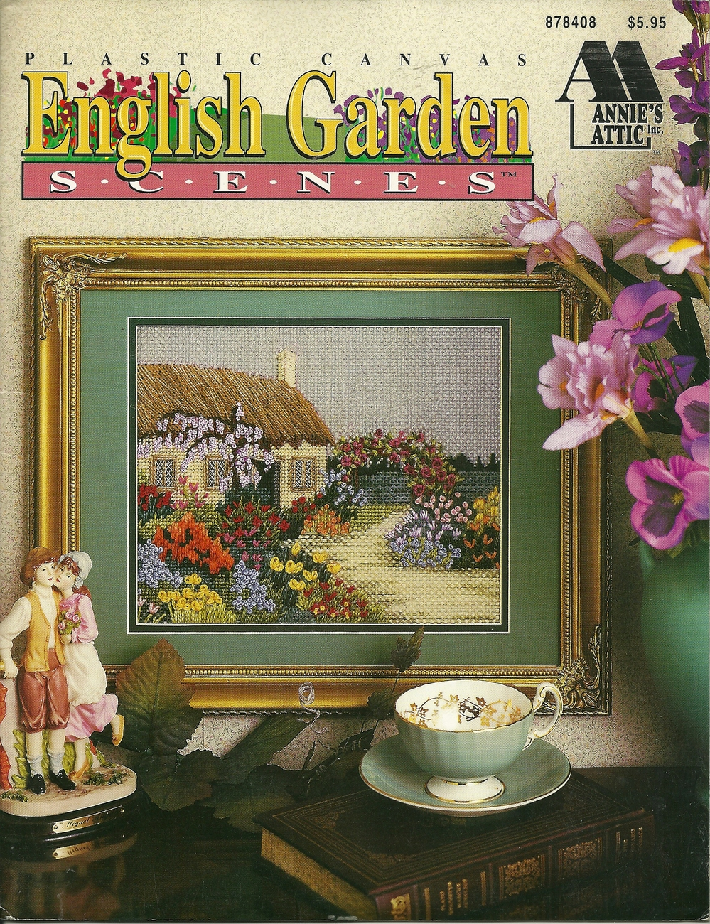 Plastic Canvas ~ English Garden Scenes ~ Annie's Attic 1995