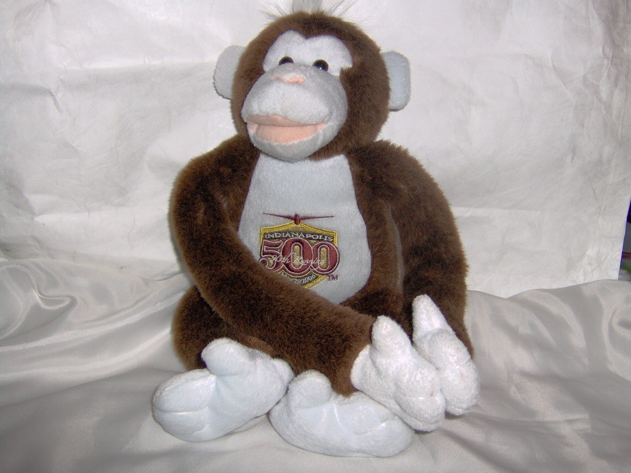 Indianapolis Indy 500 90th Running Souvenir Monkey