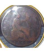 1862 GREAT BRITAIN - ONE HALF Penny - 150 YR OL... - $5.95