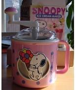 Peanuts Snoopy Vintage Donvier Ice Cream Maker - $28.99