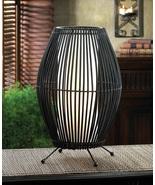 Metal Slat Convex Lamp - $55.00