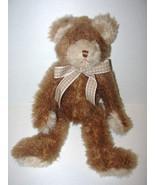 Mary Meyer Brown Teddy Bear Plush Stuffed Anima... - $14.98
