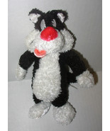 Six Flags Looney Tunes Sylvester Cat Plush Stuf... - $7.99
