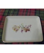 Floral Danmark Porcelain Dish or Plate - $7.99