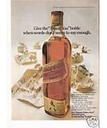 Johnnie Walker Scotch ad page - $8.00