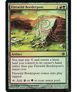Firewild Border post FOIL - Magic the Gathering - $1.00