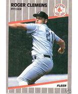 1989 Fleer Roger Clemens #85 - $1.00
