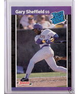 1989 Donruss Gary Sheffield Rated Rookie Card #31 - $1.00