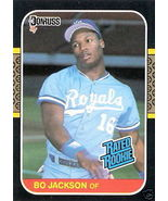 1987 Donruss Bo Jackson Card #35 - $4.00