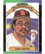1989 Tony Gwynn Diamond King Donruss #6 - $1.00