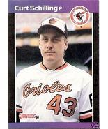 1989 Curt Schilling Rookie Card Donruss #635 - $3.25