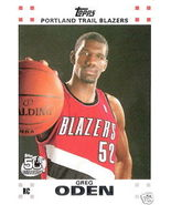 07-08 Topps Basketball Rookie Set - Oden Durant... - $8.00