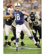 2008 Upper Deck Card - Peyton Manning #80 - $1.00