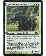 Lightwielder Paladin MTG FOIL - M10 - $2.00