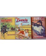3 LOT Timber Trail Riders Luck... LASSIE Fury a... - $5.00