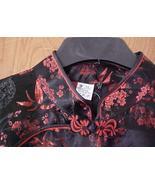 Ladies Medium NWOT Oriental Dress Red & Black - $15.00