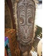 Spirit Savi Statue Haus Tambaran Oceanic Art 4f... - $1,979.99
