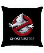 NEW* GHOSTBUSTERS  Black Cushion Cover Throw Pi... - $15.99