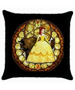 NEW* HOT BEAUTY AND THE BEAST Cushion Cover Thr... - $18.99