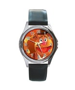 NEW* HOT FOZZIE BEAR THE MUPPETS Round Metal Watch - $18.95