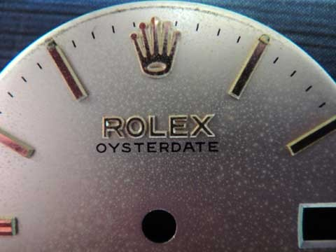 Authentic 1960' ROLEX Oyster-date 6466 Original Dial