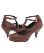 Type Z Gemma Womens Shoes T-Strap Heels Strappy... - $38.00