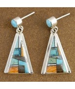 Inlaid Turquoise and Mixed Stones Santa Fe Ster... - $249.07