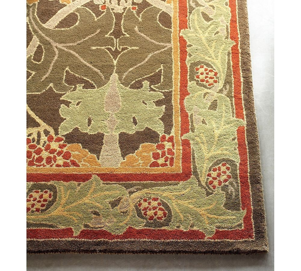 Brand New Pottery Barn Handmade CECIL Persian Style  Area Rug Carpet 8X10