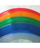 5 Assorted Colored Vinyl Records For Art Projec... - $12.99