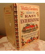 Betty Crocker's Guide of Easy Entertaining 1959... - $10.00